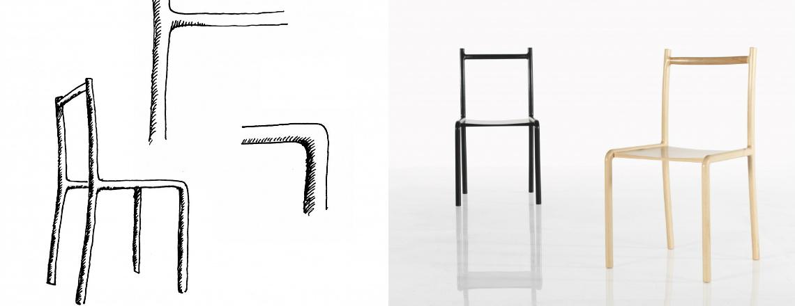 Motterani da prototipo a produzione sedie