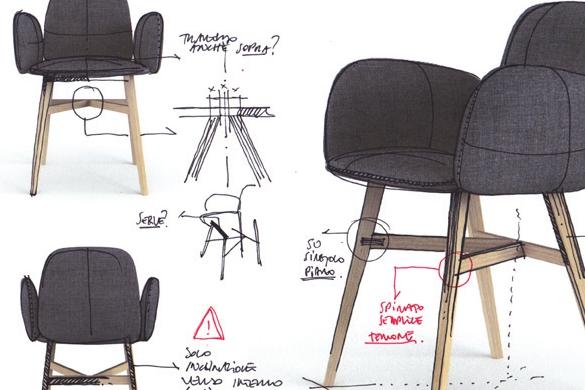 Progetto sedie boiserie in ceramica per bagno - Costruire sedia a dondolo ...